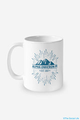 Alpha Omicron Pi Mountain Mug