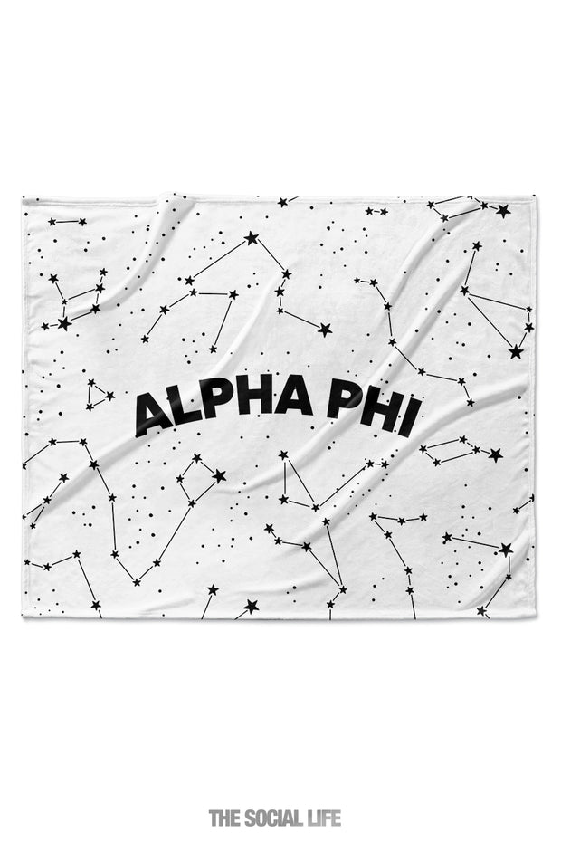 Alpha Phi Constellation Blanket