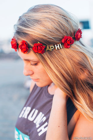 Alpha Phi Flower Crowns