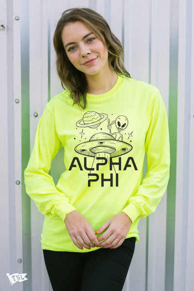 Alpha Phi Martian Long Sleeve
