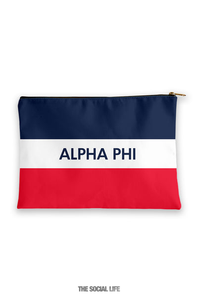 Alpha Phi Merci Cosmetic Bag