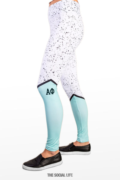 Alpha Phi Mint Chip Leggings