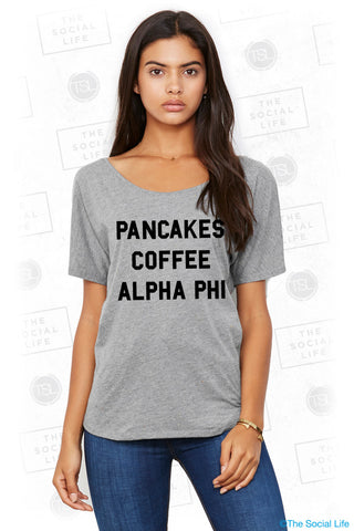 Alpha Phi Morning Tee
