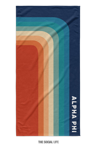 Alpha Phi Far Out Towel