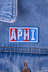 Alpha Phi Chillin' Peel-n-Stick Badge