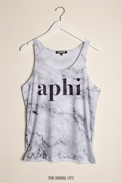 Alpha Phi Marble Tank