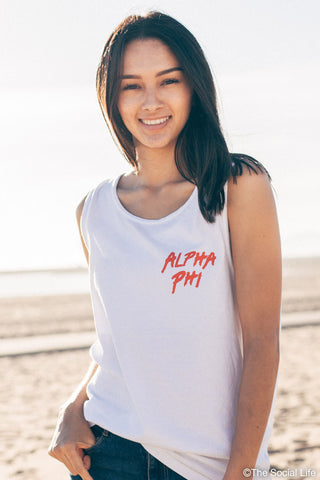 Alpha Phi Sunset Beach Tank