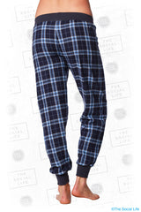 Alpha Phi Plaid Lounge Jogger