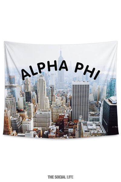 Alpha Phi NYC Tapestry