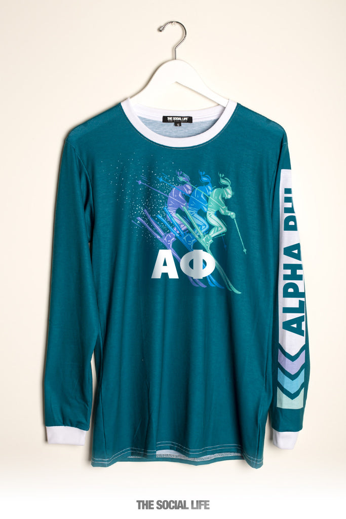 Alpha Phi Ski Long Sleeve