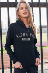 Alpha Phi Sporty Foil Top