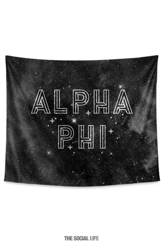 Alpha Phi Twinkle Tapestry