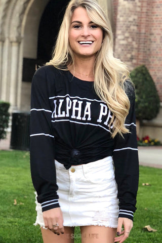 Alpha Phi University Long Sleeve