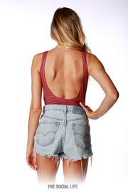Game Day Bodysuit - Maroon