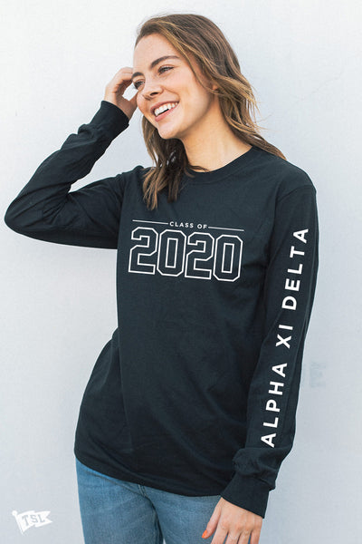 Alpha Xi Delta Class of 2020 Long Sleeve