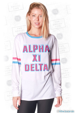 Alpha Xi Delta Frosted Long Sleeve