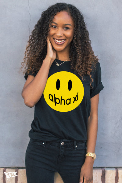 Alpha Xi Delta Happy Tee