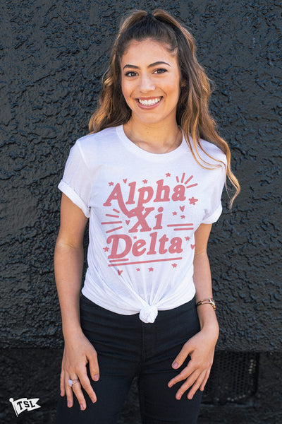Alpha Xi Delta Lovely Tee