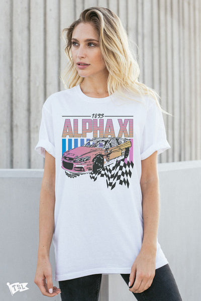 Alpha Xi Delta Racing Tee