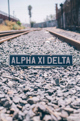 Alpha Xi Delta Vintage Sign