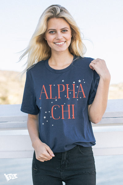 Alpha Chi Omega Allegiance Tee
