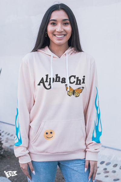 Alpha Chi Omega Be Good Hoodie