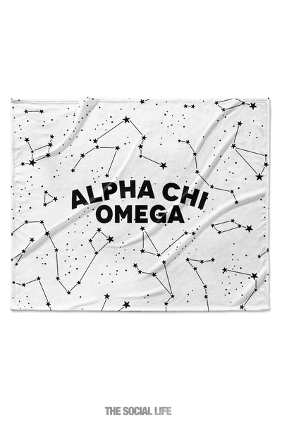 Alpha Chi Omega Constellation Blanket