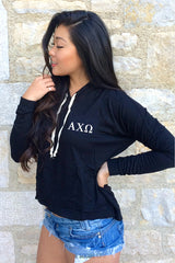 Alpha Chi Omega Crest Pullover Hoodie