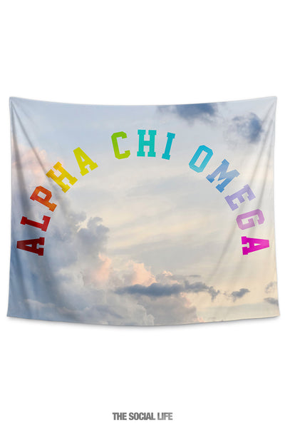 Alpha Chi Omega Dreamy Tapestry