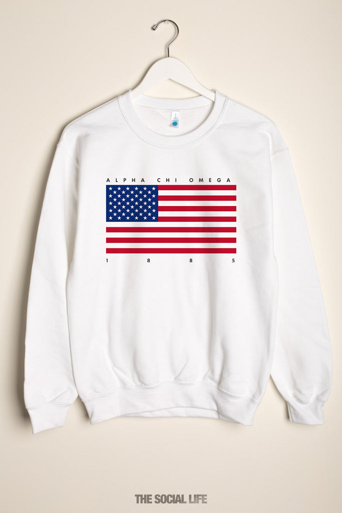 Alpha Chi Omega Independence Crewneck