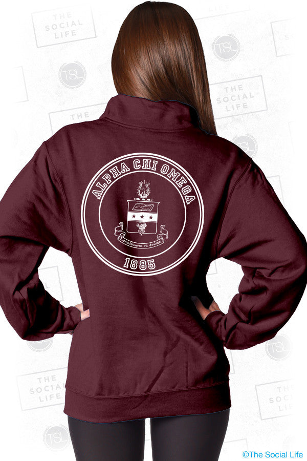 Alpha Chi Omega Ivy League QZip