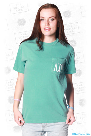 Alpha Chi Omega Having a Ball Tee