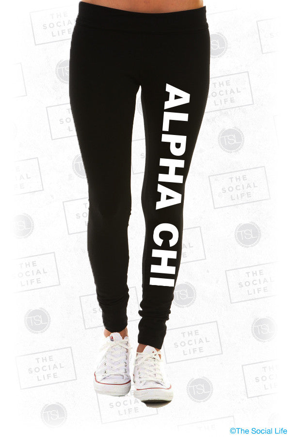 Alpha Chi Omega Leggings