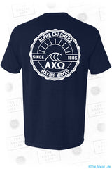 Alpha Chi Omega Making Waves Shirt