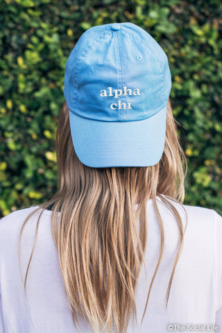 Alpha Chi Omega Pastel Dad Hat