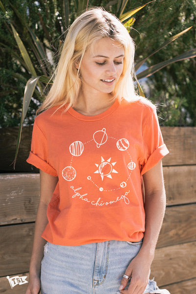 Alpha Chi Omega Retrograde Tee