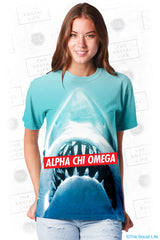 Alpha Chi Omega Sharky Top