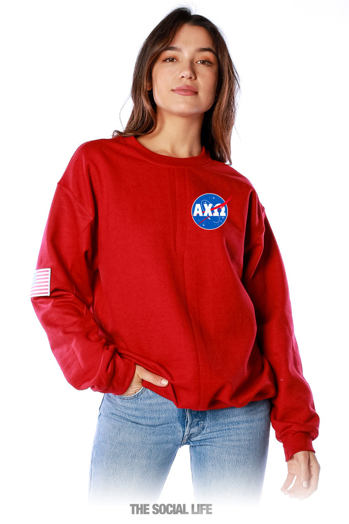 Alpha Chi Omega Space Explorer Crewneck