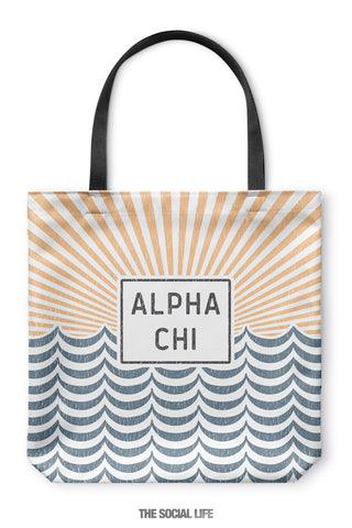 Alpha Chi Omega Sunshine Tote Bag