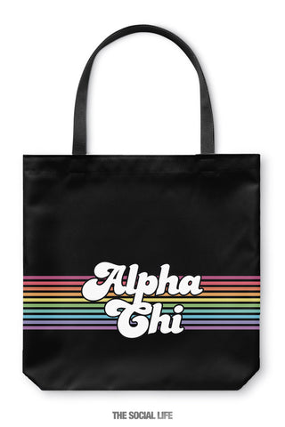 Alpha Chi Omega That 70s Tote