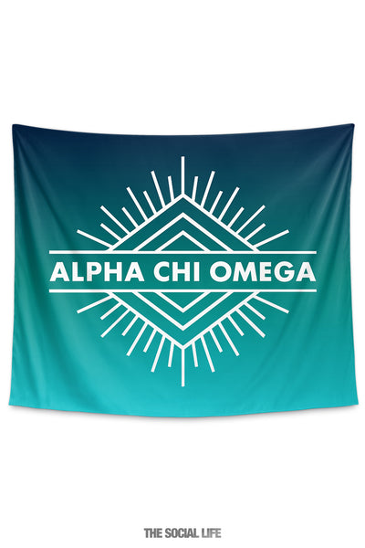Alpha Chi Omega Twilight Tapestry