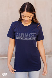Alpha Chi Omega Webster Tee