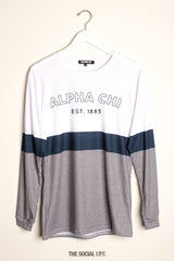 Alpha Chi Omega Elon Long Sleeve