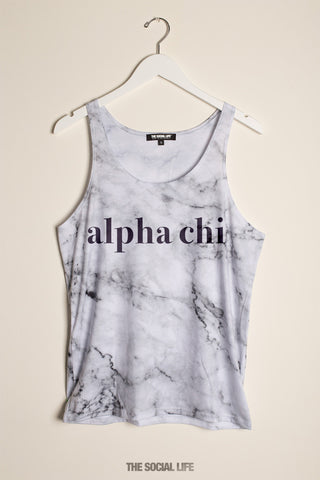 Alpha Chi Omega Marble Tank