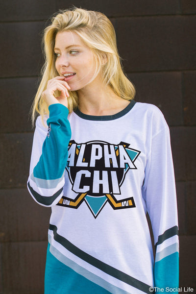 Alpha Chi Omega Mighty Hockey Long Sleeve
