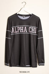 Alpha Chi Omega University Long Sleeve
