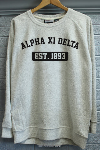 Alpha Xi Delta Poodle Fleece