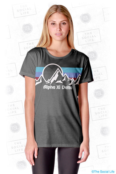 Alpha Xi Delta Summit Scoop Tee