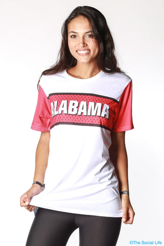 Alabama Gameday Jersey Tee