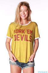 Arizona State Relaxed Ringer Tee